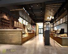 豪丽斯l咖啡厅室内外装饰设计